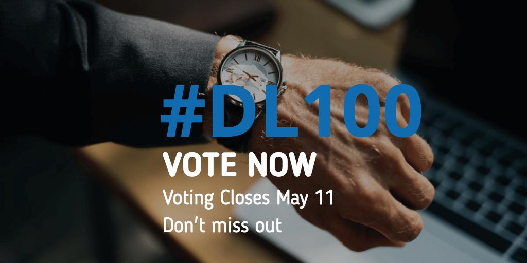 DL100 Awards Vote