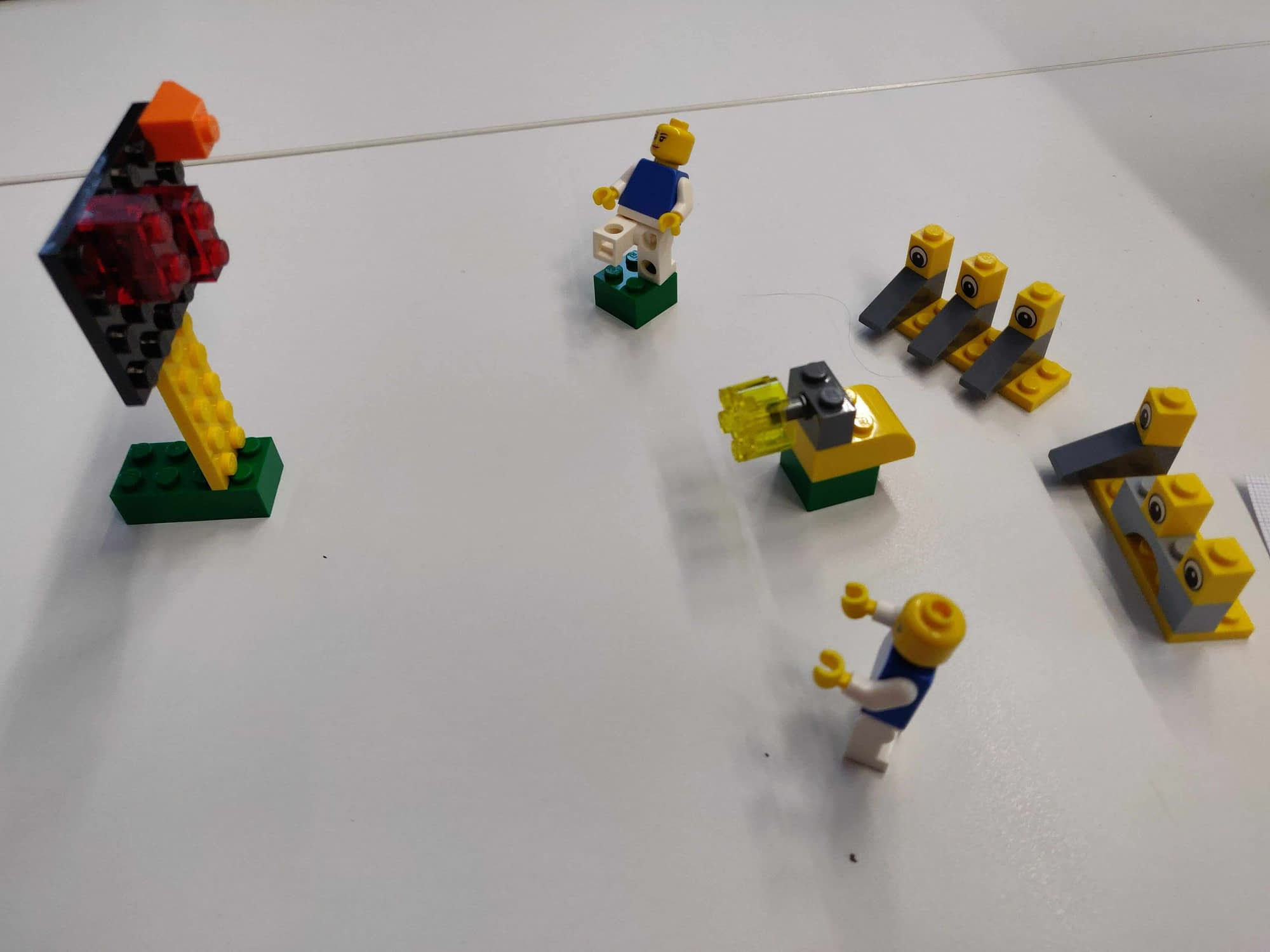Lean process workshops via Lego Serious Play